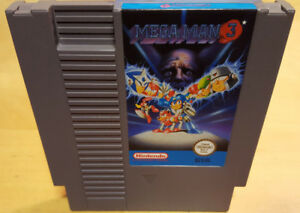 MEGA-MAN-3-for-NINTENDO-NES-PAL-A-RARE-amp-IN-VGC-cartridge-only-by-Capcom
