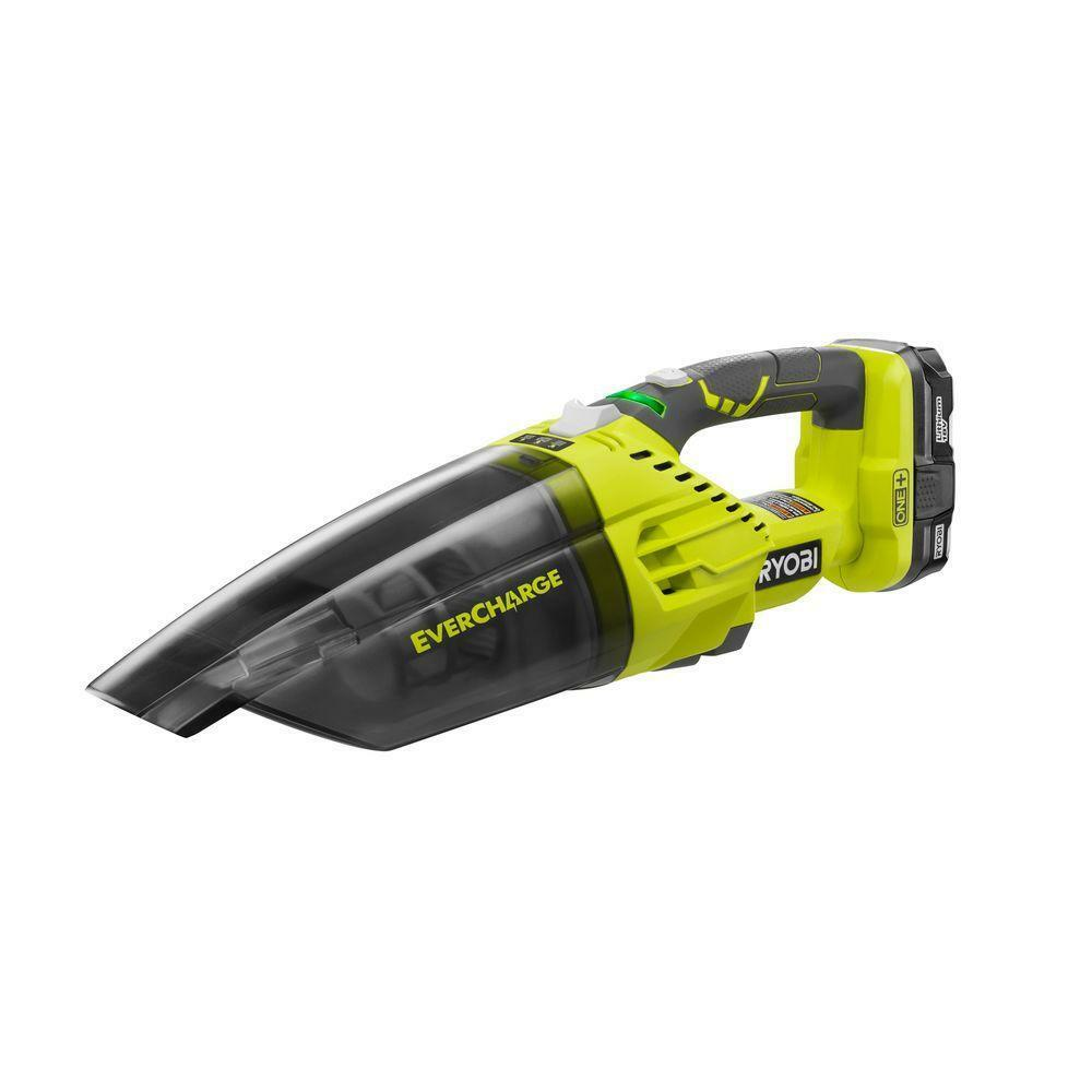 Ryobi Portable Hand Vacuum Cleaner Handheld Vac Car Home Cordless Lightweight