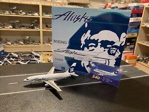 Inflight 1:200 Alaska Airlines Boeing 737-200 N740AS IF732044 Diecast Model