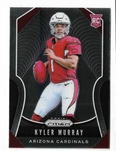 2019 Panini prizm football #301 Kyler Murray rookie card Arizona Cardinals RC