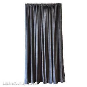 Image Is Loading Black Studio Soundproofing Energy Efficient Velvet Curtain  12