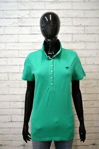 Polo-Donna-POLO-SYLT-Taglia-L-Maglia-Manica-Corta-Shirt-Jersey-Damenhemd