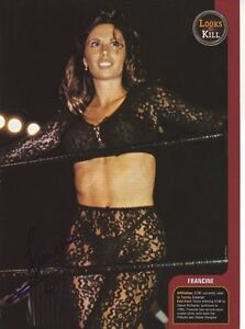 WWE-WWF-FRANCINE-SEXY-AUTOGRAPHED-HAND-SIGNED-8X10-PHOTO-WRESTLING-PICTURE