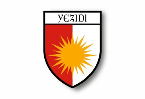 Aufkleber sticker autoaufkleber wappen schild flagge flaggen fahne yezidi yazidi