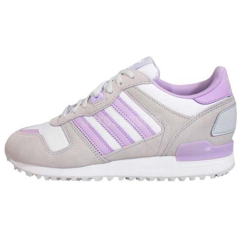 Blanco Uk 7 5 F 1 Adidas 3 Us 6 700 Zapatillas Zx 39 Violeta Gris 0wCXOq