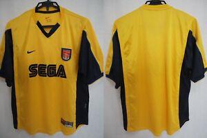 0dcf629ea46 1999-2000-2001 Arsenal FC Gunners Football Soccer Jersey Shirt Away ...