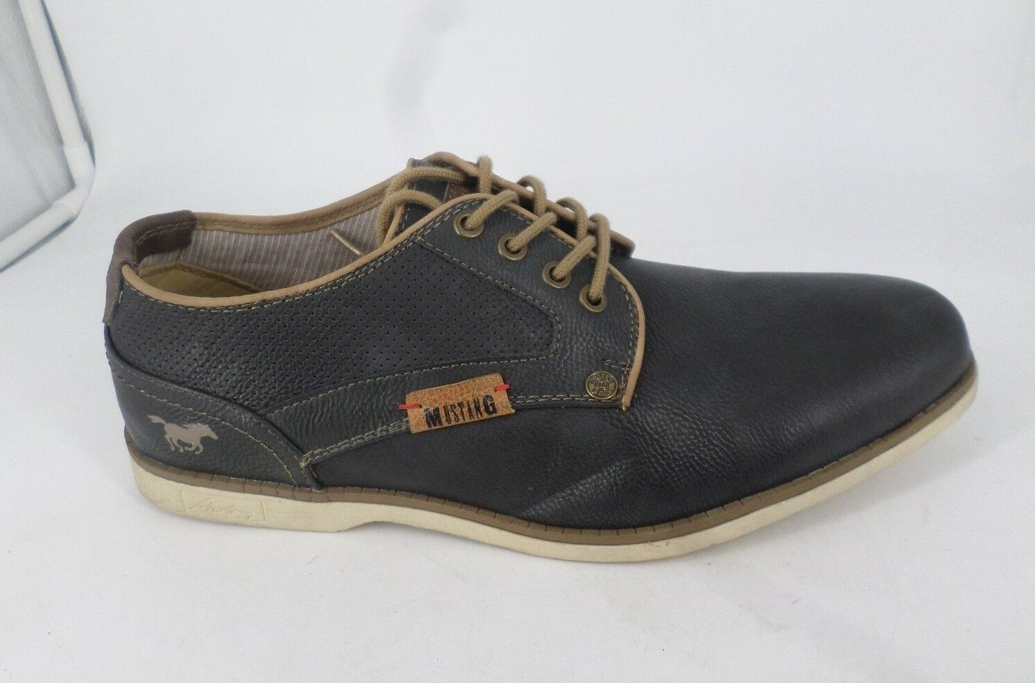 Mustang Co UK Lace Up Derby Schuhes UK Co 8 EU 42 JS085 EE 06 c4281f