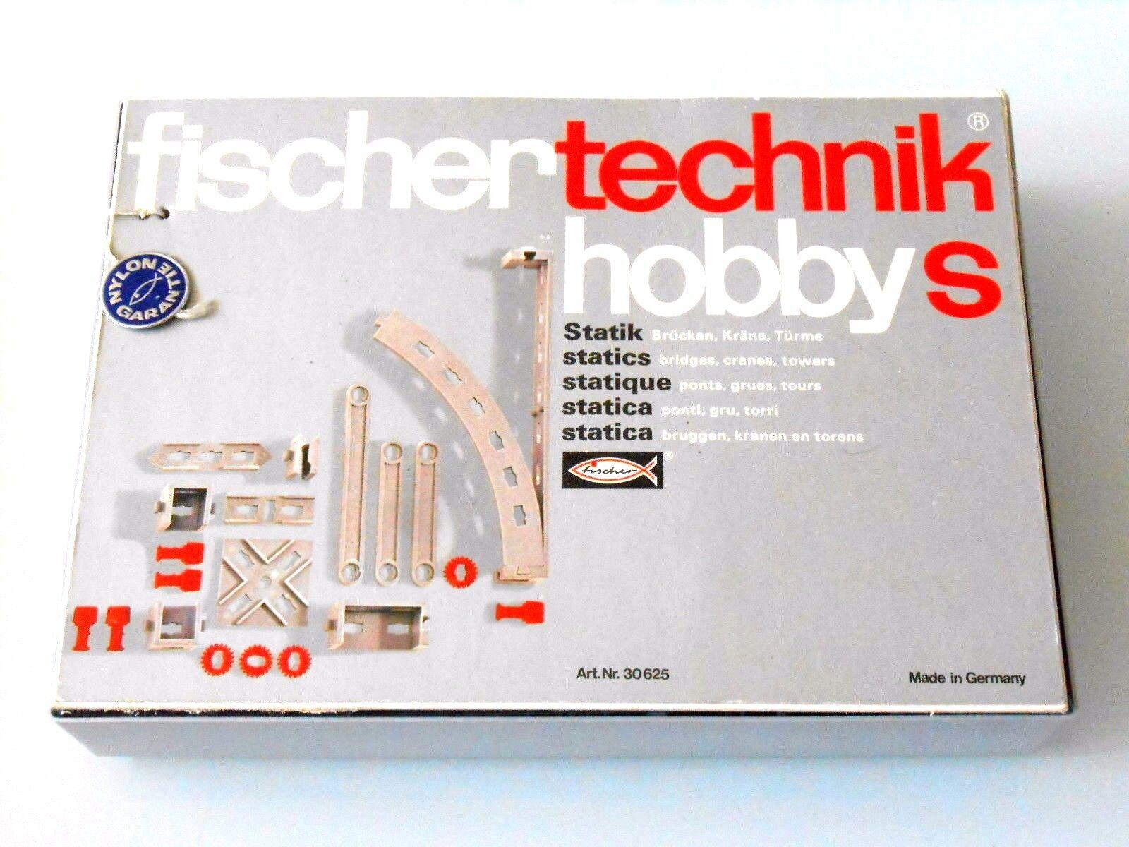 Fischertechnik modulaire U-T S Hobby S avec couvercle  manuel   TOP   comme neuf
