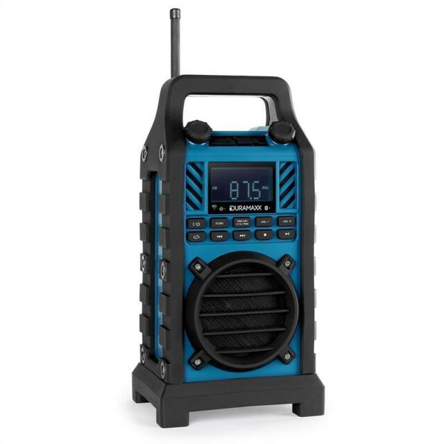 BAUSTELLEN RADIO TRAGBAR BLUETOOTH SOUND SYSTEM HANDY LAUTSPRECHER USB SD MP3