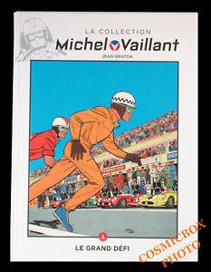 MICHEL VAILLANT tome 1 Le Grand Défi tirage de Luxe avec bonus BD pilote courses