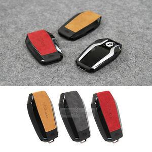 Alcatara display smart key case cover holder 3 color for bmw 15 17 image is loading alcatara display smart key case cover holder 3 sciox Images