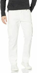 Levi/'s #10407 NEW Men/'s White Stretch 541 Athletic Taper Cargo Jeans MSRP $79.50