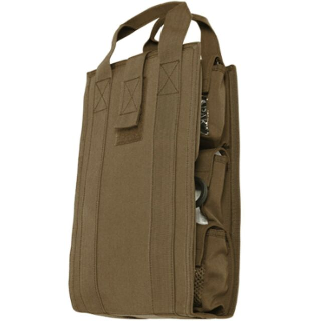 Condor VA7 Coyote Brown Medic Travel Pack Organizer Utility Tool Kit Insert Bag
