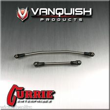 Vanquish Products CURRIE/SCX10 8 DEGREE TITANIUM TIE ROD/DRAG LINK VPS06739