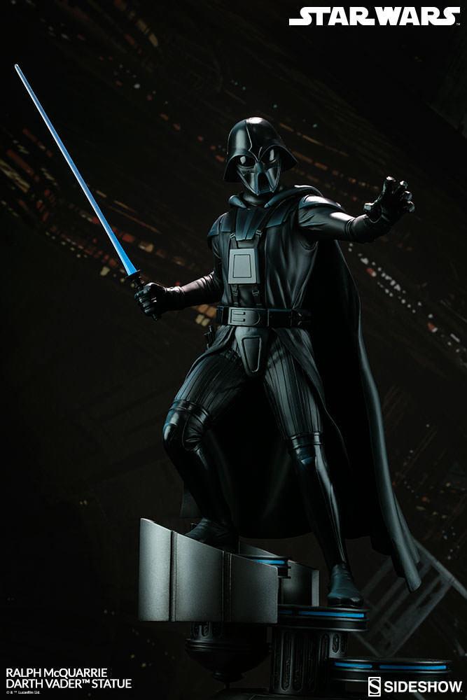 Star Wars  Darth Vader Ralph Mcquarrie Statue Concept Artist Series Sideshow