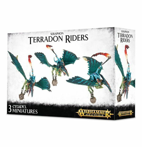 Seraphon Terradon Riders Games Officina Warhammer Echsenmenschen Ripperdactyl