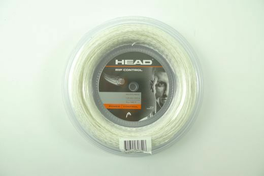 *NEW*Head Rip Control bianca string reel 200m Tennis 1.25mm 660 ft. 17g power pro