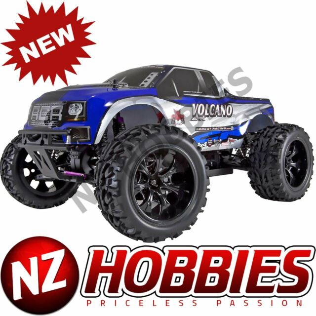 REDCAT 1/10 Volcano EPX 4WD Monster Truck Brushed RTR, Blue # RER04289