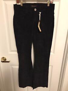 Lee Pana Pantalones Para Mujer Talla 8 Negro One True Fit Bootcut Nuevo Con Etiquetas Ebay