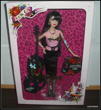 NRFB BARBIE MATTEL 2009 GOLD LABEL HARD ROCK CAFE ROCKABILLY GOLD LABEL