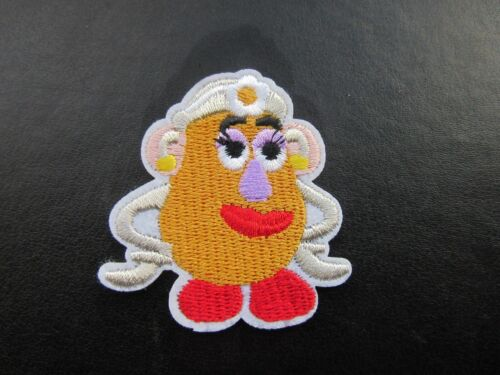TOY STORY MRS POTATO HEAD IRON ON BADGE SEW ON PATCH