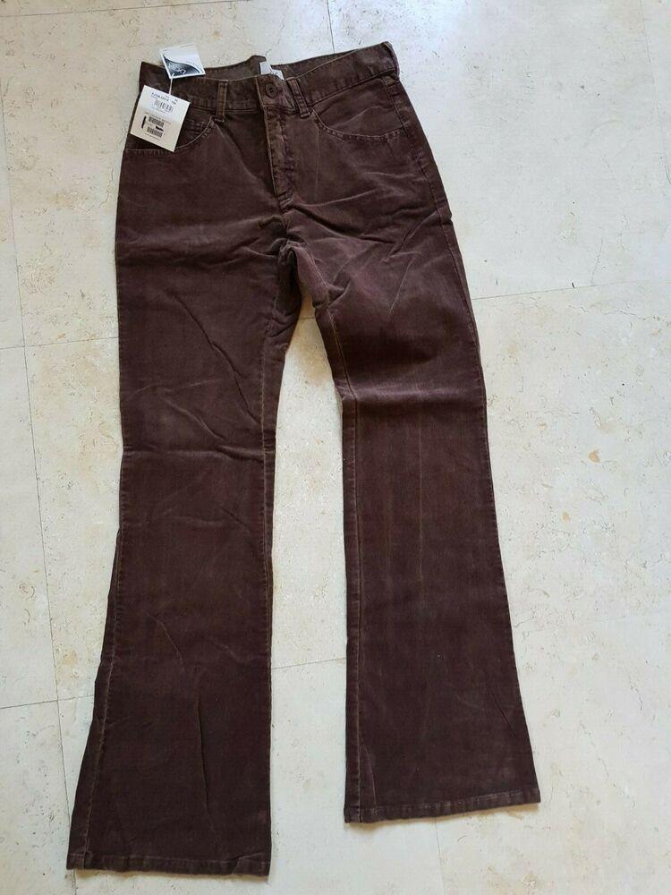 A2810 Neuf Pantalon New-man Collection Taille 38 Velours Couleur épices (marron)