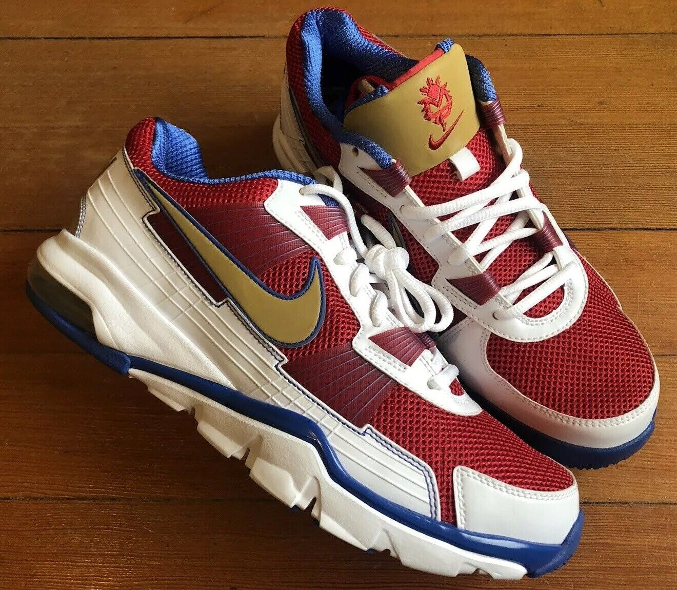 Nike Manny Pacquiao Trainer PacMan 2010 SC Low 407846–176 407846–176 407846–176 Mismatch 8.5 & 9.5 31ae6a