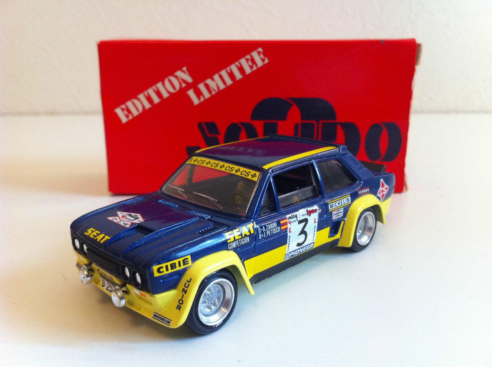 Solido (Transkit) - Fiat 131 Abarth Rally 4 Regioni Regioni Regioni 1979 Zanini Petisco (1 43) ad685b