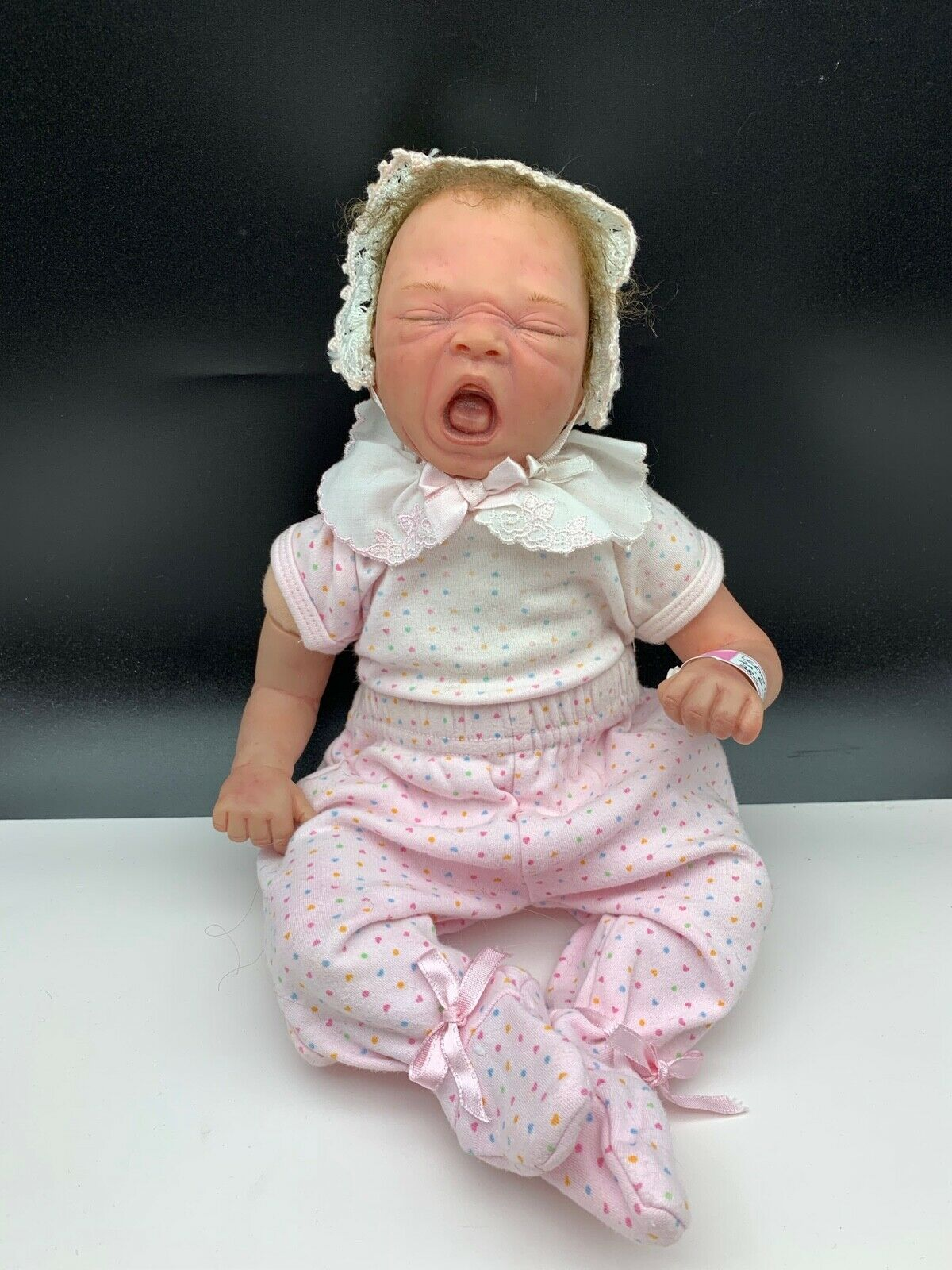 Künstlerpuppe Vinyl Reborn Puppe 40 cm. Top Zustand