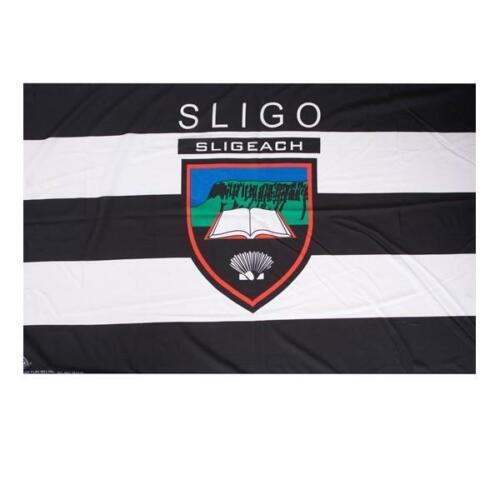 Drapeau-Crested Irish Gaelic Football Jets Sligo GAA officiel 5 x 3 ft environ 0.91 m