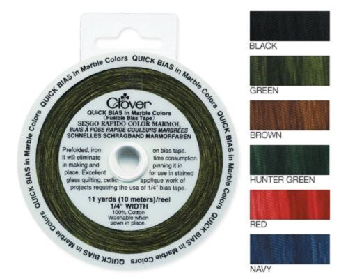 Clover Quick Bias Tape Marble Lame'Stripe #760 Updated 4815
