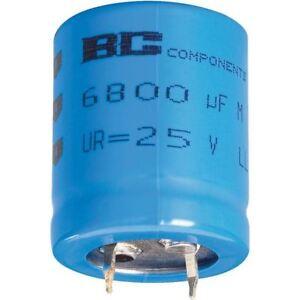 40V LL Snap-In Capacitor-222205647103 10000µF 1pcs BCcomponents 056 10000uF