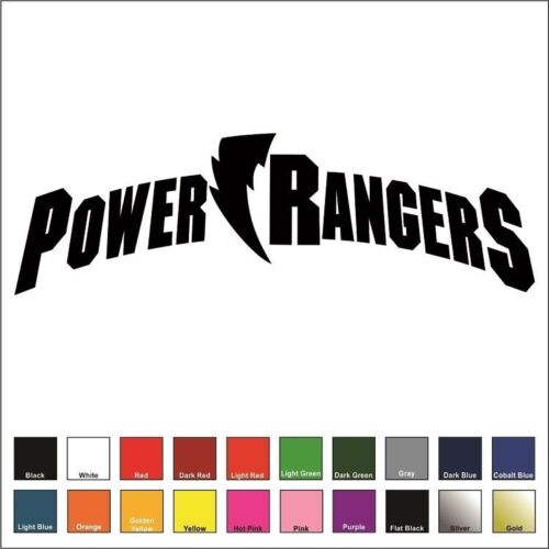 Alpha 5 Choose Size /& Color Zordon Ivan Ooze Power Rangers Decal