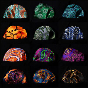 Paisley-Floral-Men-Silk-Pocket-Square-Hanky-Wedding-Party-Handkerchief-B8