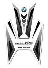 BMW MOTORRAD R1200GS BLACK//WHITE//GREY Motorcycle Tank Pad Protector Sticker
