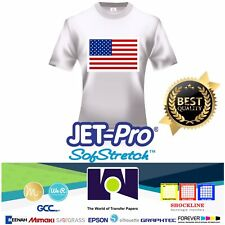 7 PK INKJET IRON ON HEAT TRANSFER PAPER NEENAH JETPRO SOFSTRETCH 11 x 17/""