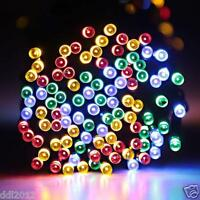 Outdoor Home Solar Power 100/200 LED String Fairy Light Xmas Garden Party Decor