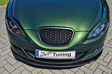 Sonderaktion ABS Frontspoilerlippe Spoilerschwert für Seat Leon 1P mit ABE
