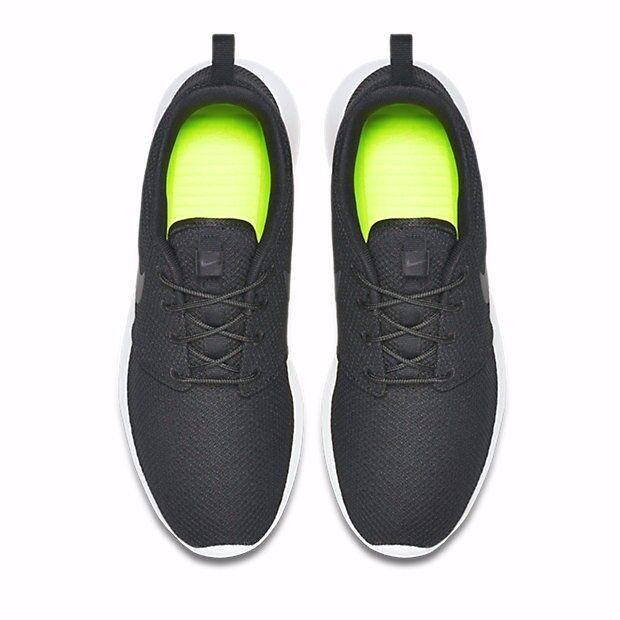 Nike roshe una vela nera 511881-010 maglia 7,5 Uomo 7,5 maglia 13 rosherun d16d58