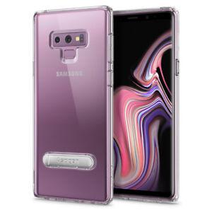 Galaxy-Note-9-Case-I-Spigen-Ultra-Hybrid-S-Clear-Bumper-Kickstand-TPU-Cover