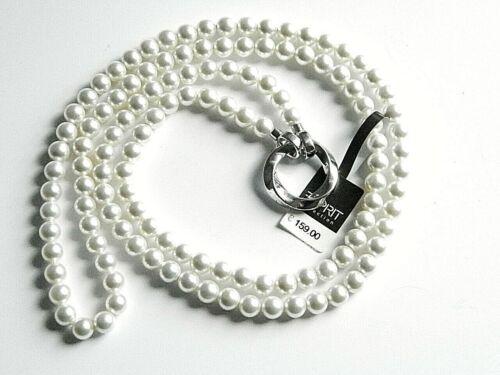Esprit Collection Damen Perlen Kette Silber UVP159 € jetzt 50 /% sparen
