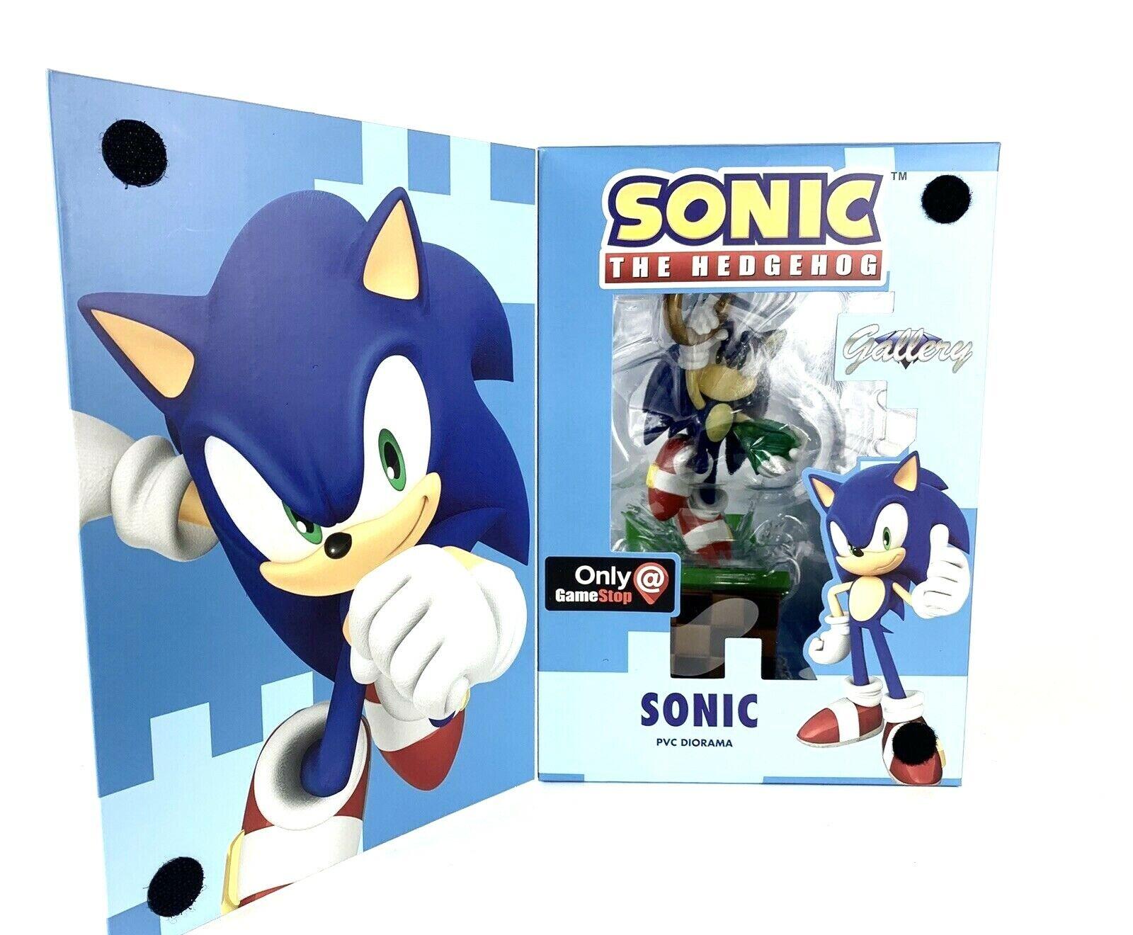 Sonic The Hedgehog Gtuttiery Diamond Select cifra Diorama gratuito Priority Shipping