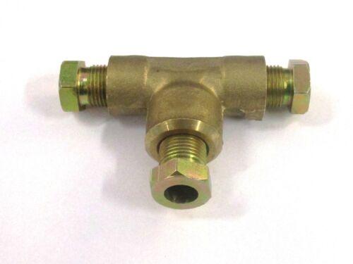 /& Kupferleitung LPG T-Stück-Verbinder 6//6//6mm für flexible Thermoplastik Gas