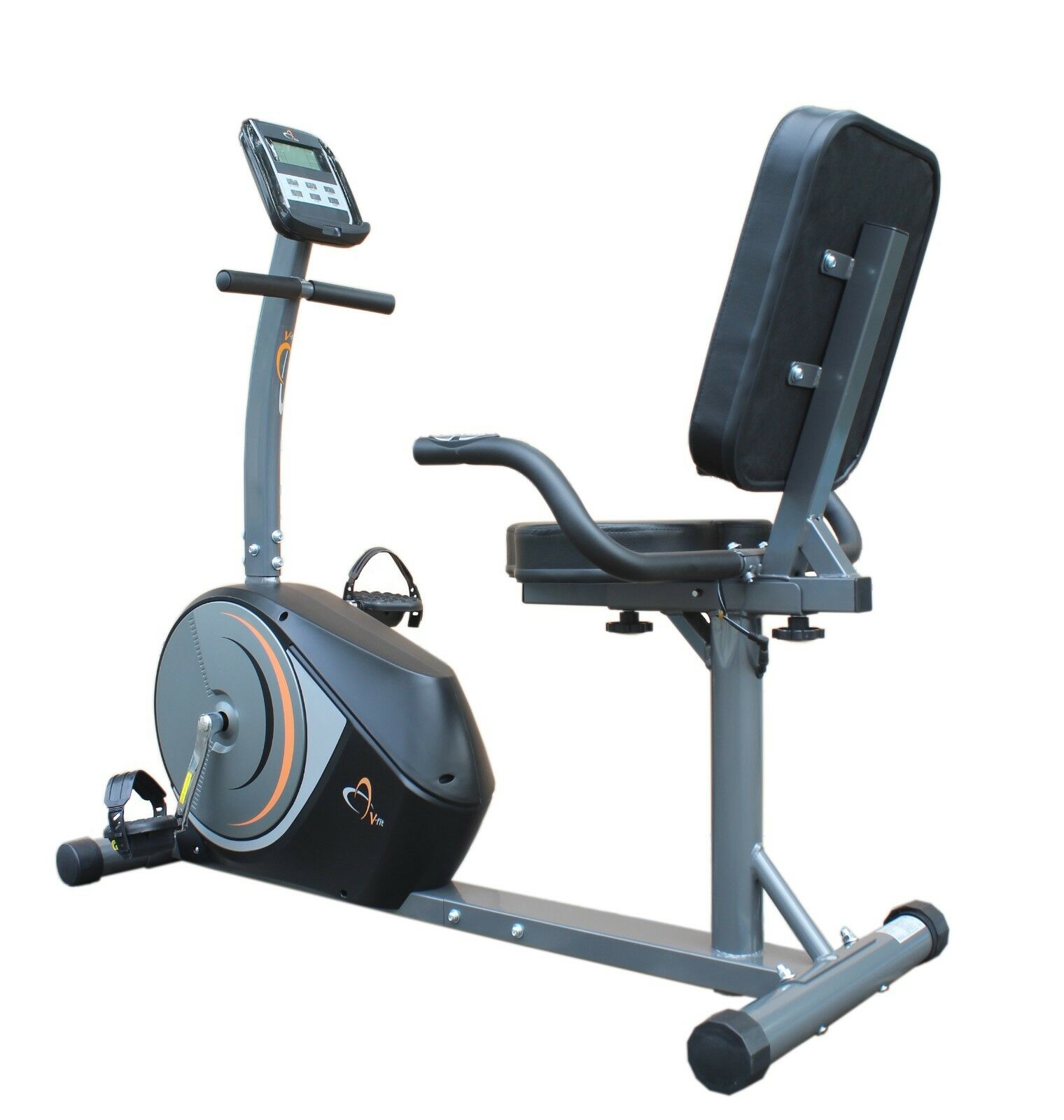 V-fit PMRC-1 Programmable Magnetic Recumbent Cycle Exercise Bike r.r.p