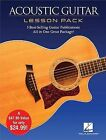 Acoustic Guitar Lesson Pack 4 Books & 1 DVD by Hal Leonard Corporation (Paperback, 2015)