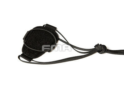 FMA Pouch Enhanced With Bungee TB1000-BK Black