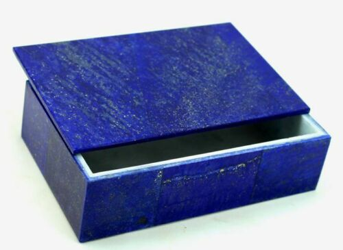 750 Gm High Quality Lapis Lazuli Jewellery Box from Badakhsan Afghanistan
