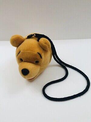 "Vintage Disney Store Winnie the Pooh Plush Head 6"" Bag ..."