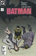 "Miller and Mazzucchelli's ""BATMAN : YEAR ONE, PART 1, 2, 3 & 4"" (1987)"