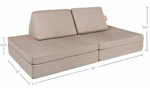 The Nugget Comfort Couch Pebble Kids Play Sofa Fort IN ...
